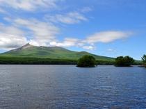【景色】大沼の清らかな水辺と駒ヶ岳の雄姿の対比が美しいです。