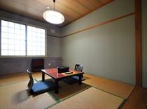 【スタンダード和室6帖】昔ながらの畳の客室です。