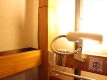 ベットライト、コンセント  Bed light , outlet