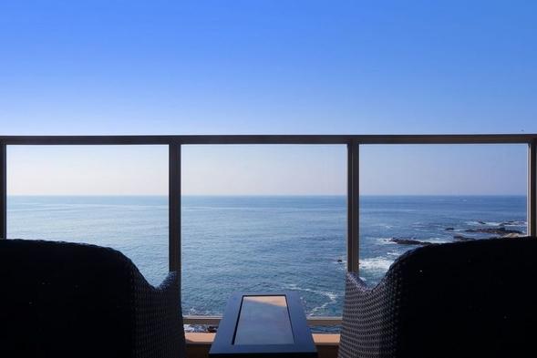 【夏旅セール】【海一望の半露天風呂付き客室】是空棟スタンダードプラン(現金のみ)