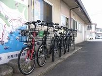 安房鴨川駅の駅前には レンタサイクルもございます。たまには自転車観光も気持ちいいです。
