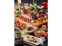 料理コンテストで千葉県知事賞を過去2回受賞している料理長の匠の技が光ります。