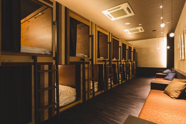 【全体】カプセルホテル旅籠屋