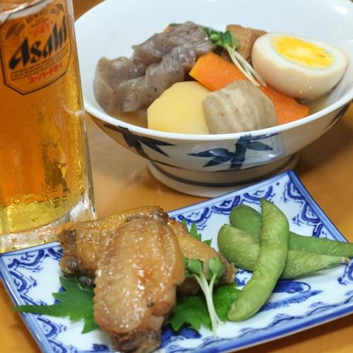 【夕食】ご飯にもお酒にも合うおふくろの逸品です!