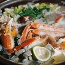 蟹入り海鮮鍋