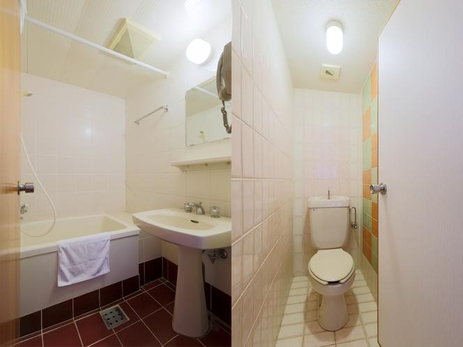 ツインルームデラックス バス・トイレ