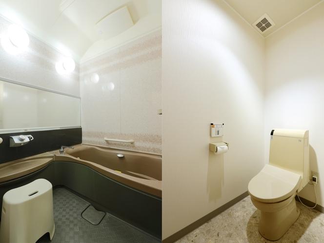 デラックスルーム バス・トイレ