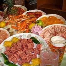 お祭り食事