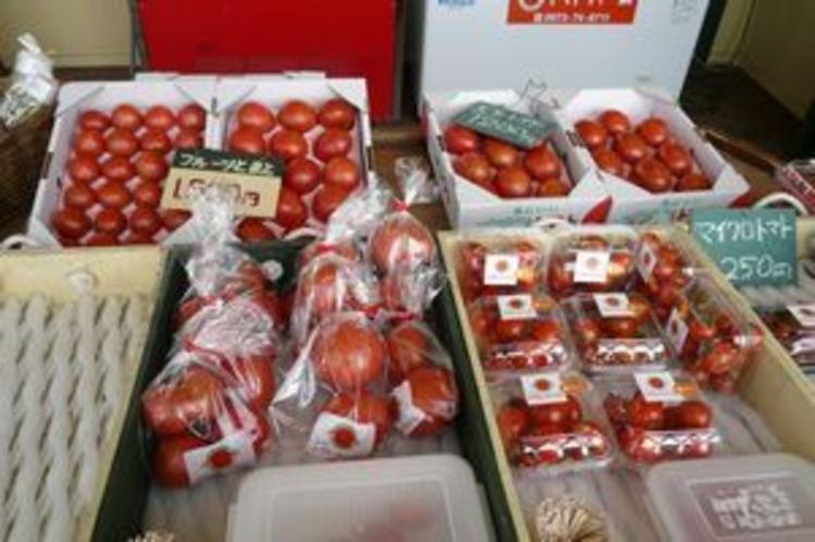 フルーツトマトの数々…