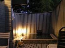 花梨露天風呂夜景
