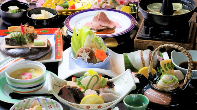 【夏旅セール】夏休みのご旅行に!厳選食材を使用した旬彩会席<安芸コース>