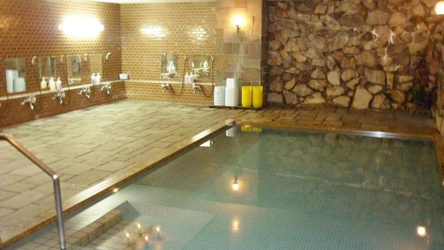 *【大浴場】活性石を使った人工温泉で、冷えた身体もポッカポカ♪