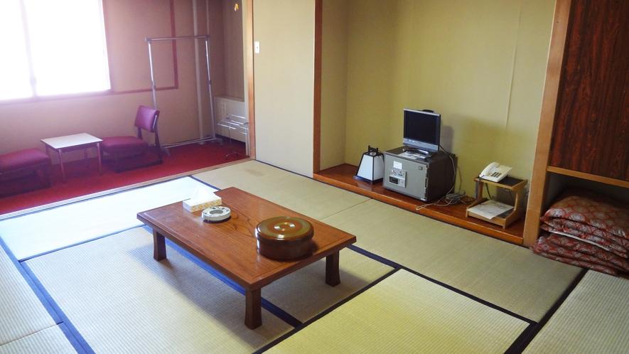 *【部屋一例】和室/人数に合わせて8畳~12畳の和室をご用意いたします。