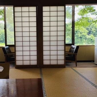 【渓観亭】川の眺めが最高なゆったりとくつろげるお部屋