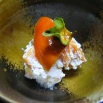 柿の白和え