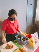 朝食(台湾風お握り作りたてエリア)(参考イメージ)