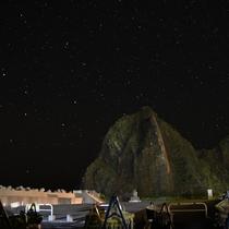 【風景】オロンコ岩 星空観察会