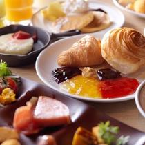 【朝食】ブッフェの一例