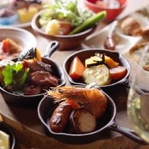 【夕食】夕食メニューの一例