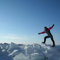 【観光】流氷ウォーク