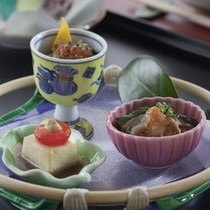【料理一例】前菜