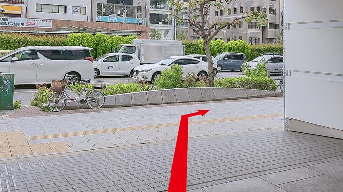 【 地下鉄四つ橋線四ツ橋駅:アクセス :4】