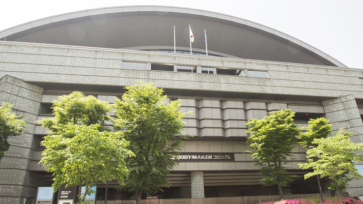 ■周辺施設:「大阪府立体育館」様々なスポーツ鑑賞などにご利用いただけるスタジアム