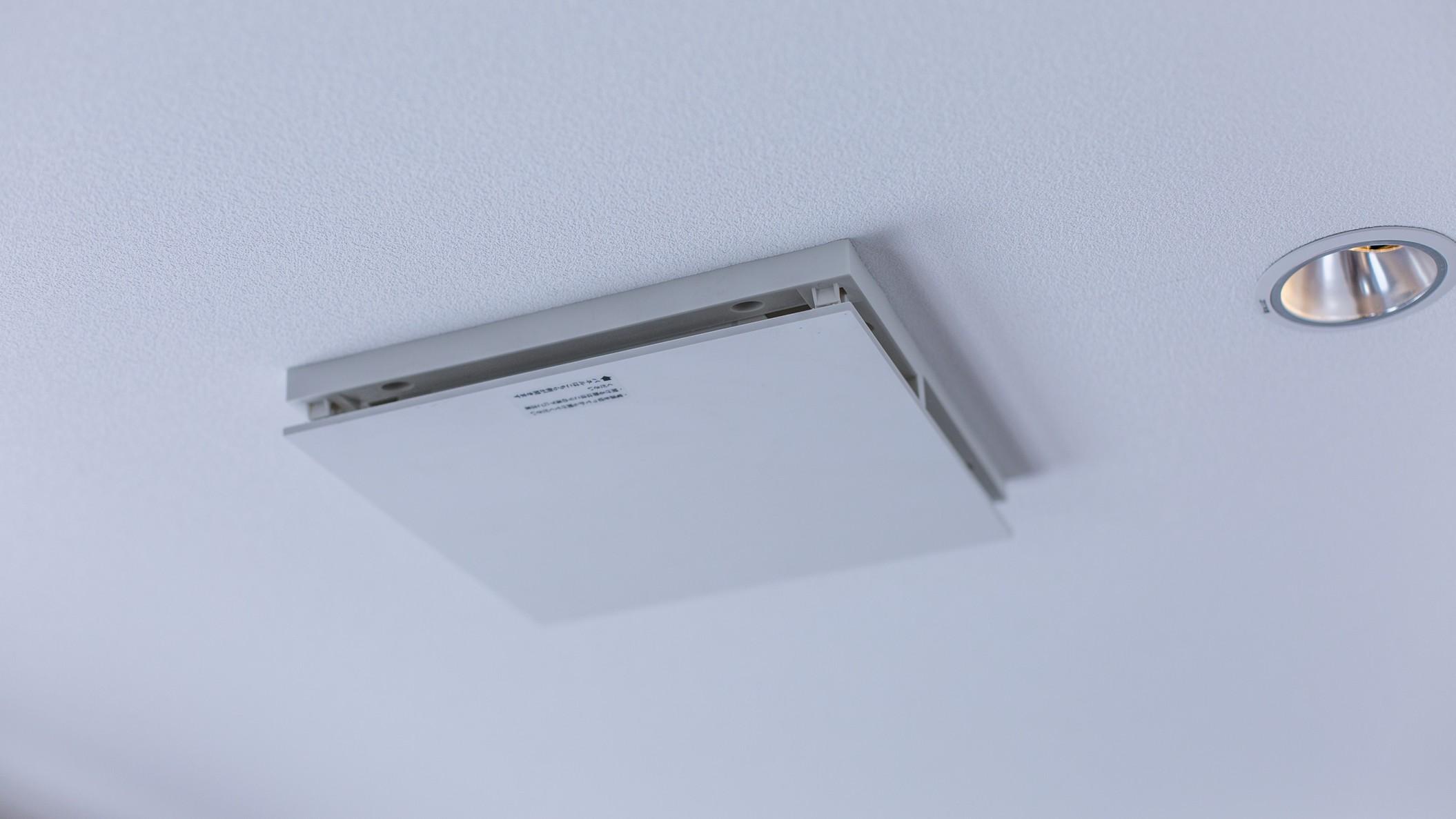 [全室]臭い・菌・花粉などを抑制する、天井埋込型空気循環ファン「ヘルスエアー」