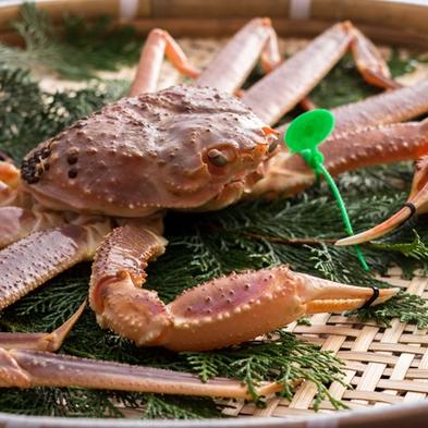 【間人(たいざ)蟹の贅沢】『希少蟹!幻の間人蟹懐石』