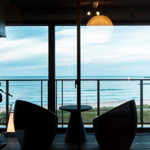 2階客室からの風景
