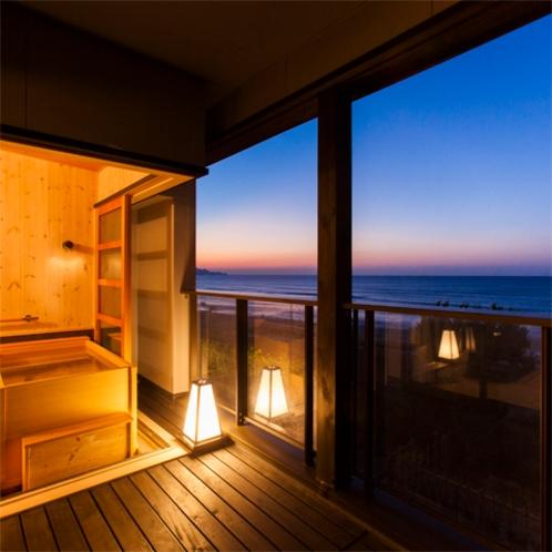 2階客室・露天風呂