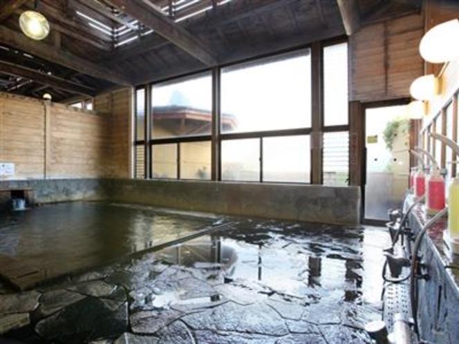 戸狩温泉「暁の湯」(内湯②)