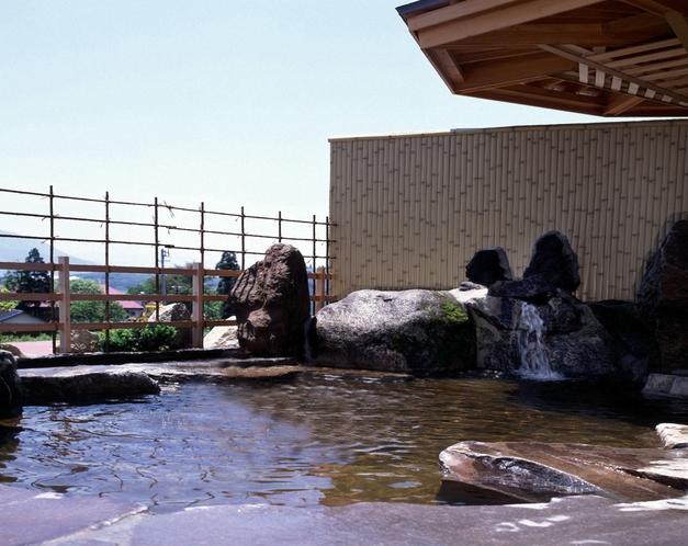 戸狩温泉「暁の湯」(露天)