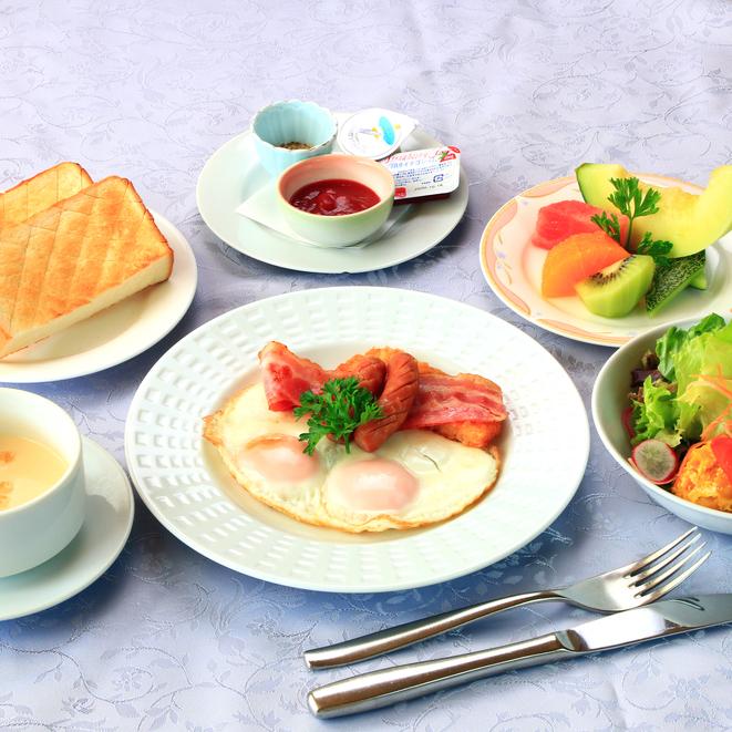 和食と洋食のメニューからお好きなほうをお選びください。