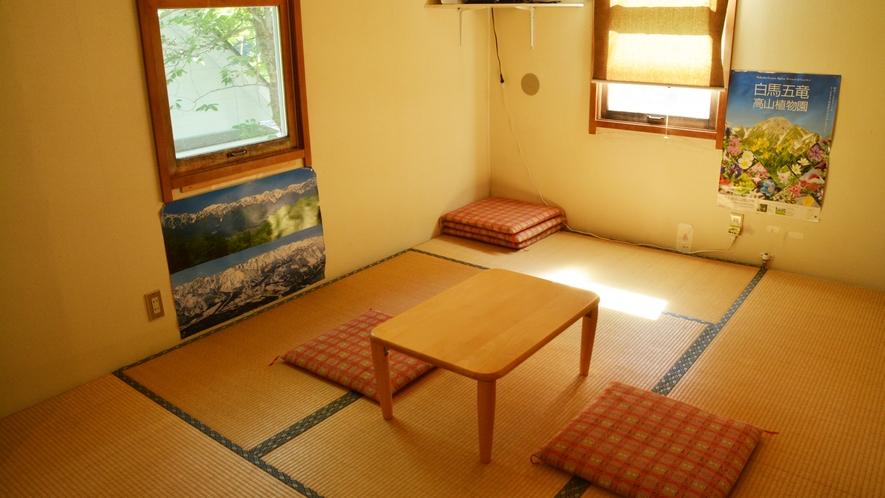 *和室4名様用/足を伸ばしてくつろげる畳のお部屋。