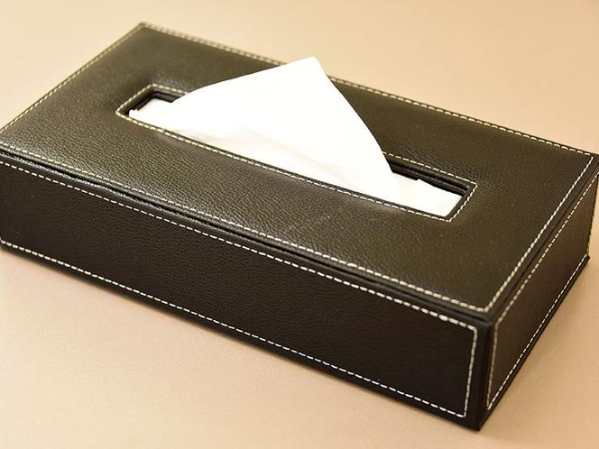 【客室備品】ティッシュボックス