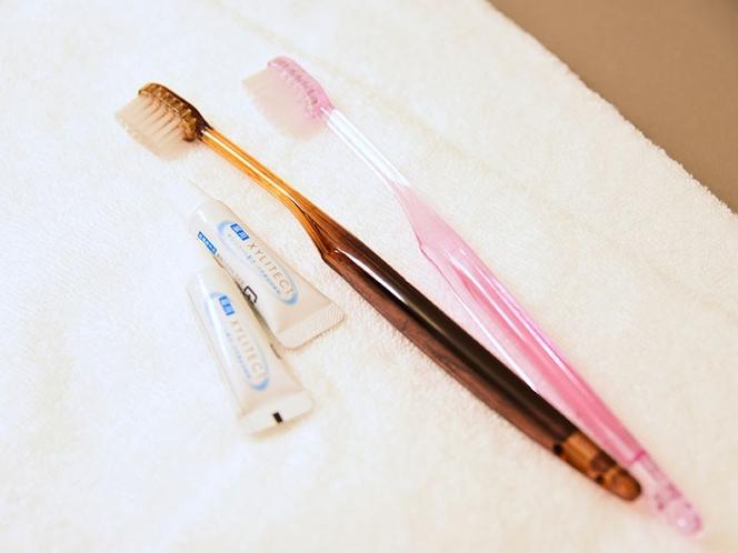 【客室アメニティ】歯ブラシ