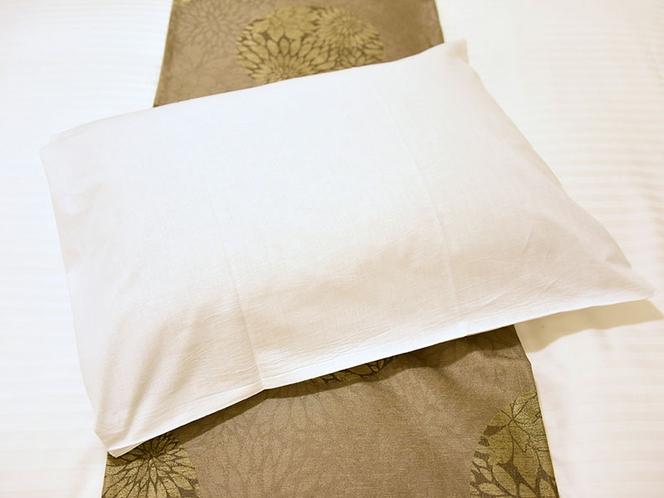 【客室備品】テンピュール枕(一部客室を除く)