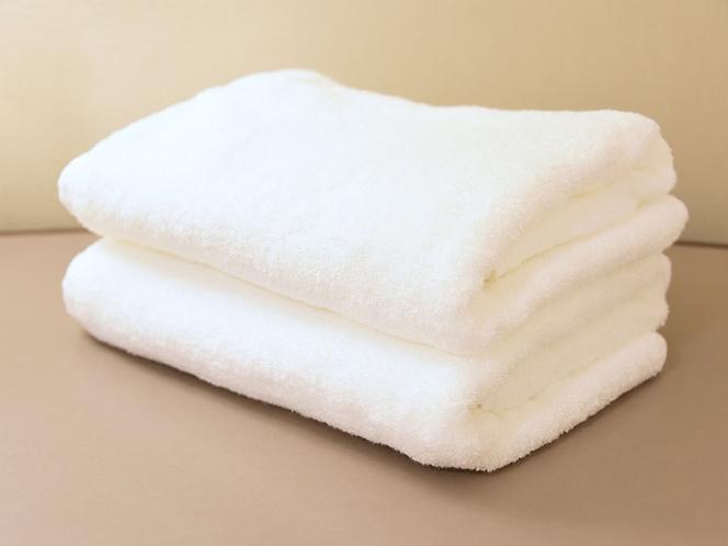 【客室備品】バスタオル