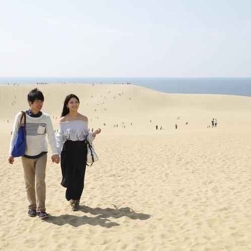 鳥取砂丘まではお車で約15分