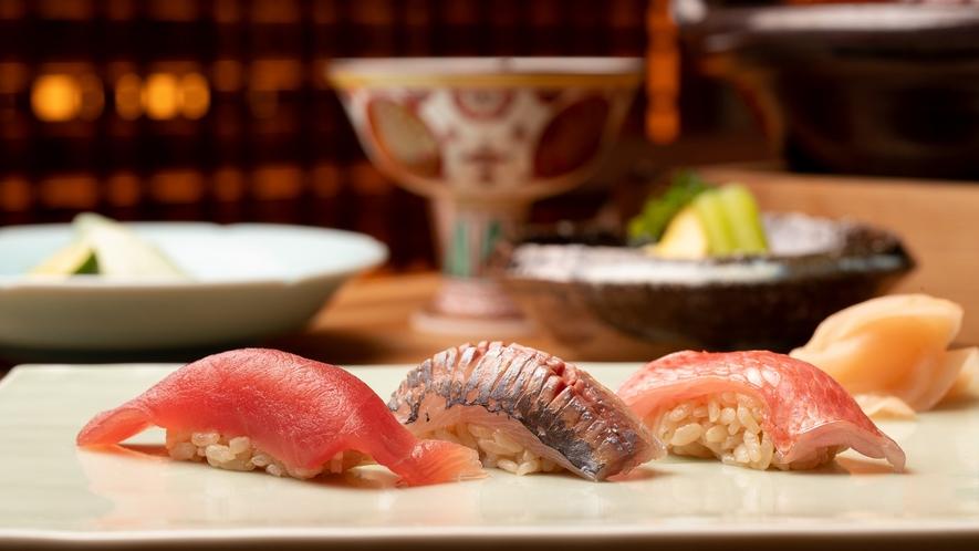 木の間の月ご夕食「鮨」
