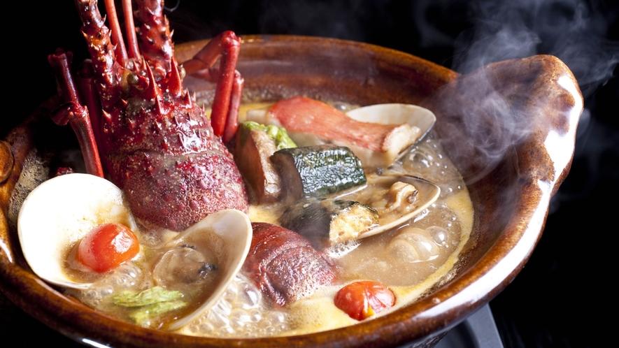ふふ 熱海名物料理『海香鍋』