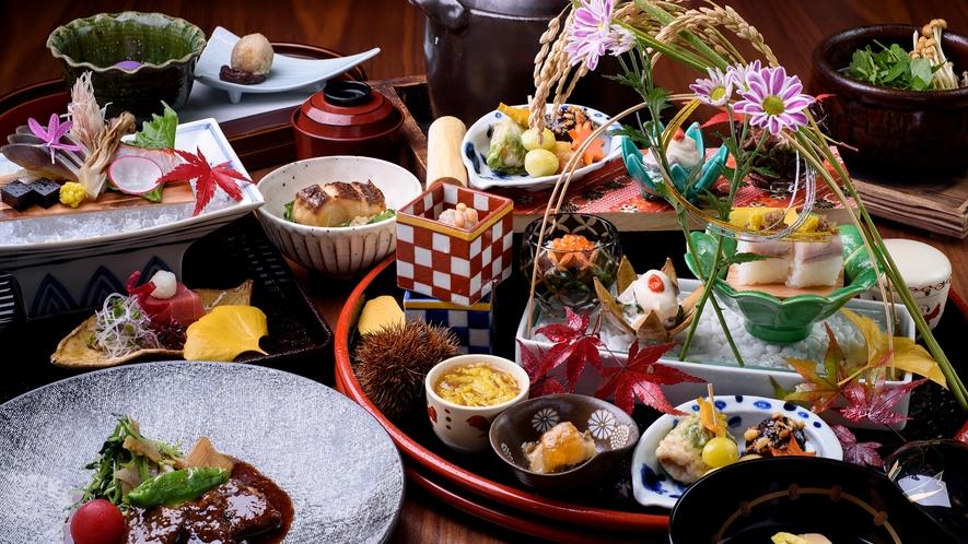 月替わり献立 日本料理イメージ