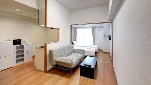 【2・3階ツイン】1LDK/バストイレ独立/洗濯機付