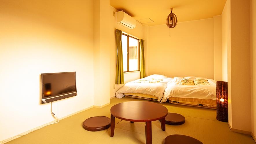 和室(シングルベッド2台)