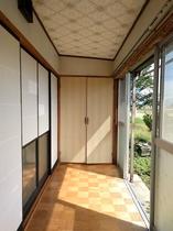 部屋2 外廊下
