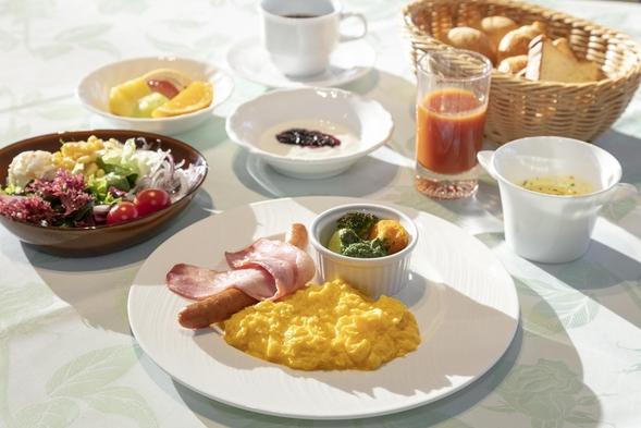 【秋冬旅セール】《1泊朝食付プラン》爽やかな高原の朝は新鮮野菜が評判の朝食から【ペット同室宿泊可】