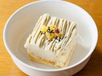 ※わんちゃん用メニュー※  【サツマイモと豆乳のモンブラン】