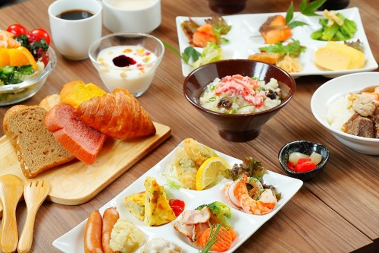 【朝食一例】一日の始まりはおいしい朝食から♪
