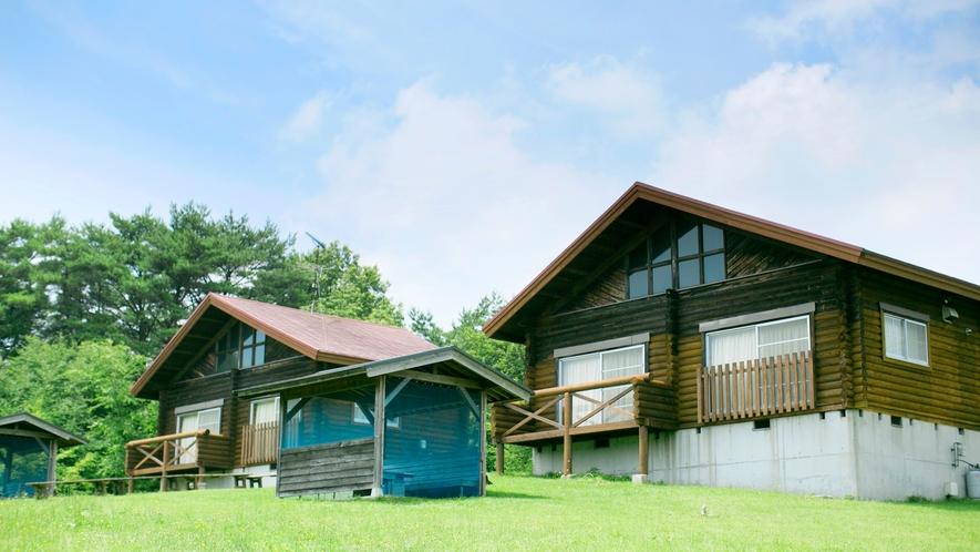 *【ログハウス】奈良の東大寺と同じ校倉造りで建てられています